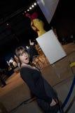Bethany Leigh en la subasta perdida Foto de archivo libre de regalías
