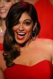 Bethany Mota geht die Rollbahn am Gehungs-Rot für Frauen-rote Kleidersammlung 2015 Lizenzfreies Stockfoto
