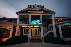 Bethany Surf Shop em Bethany Beach, Delaware foto de stock royalty free