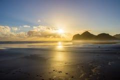 Bethells plaża Obrazy Stock