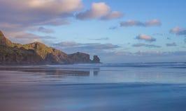 Bethells plaża Zdjęcia Stock