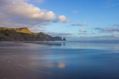 Bethells plaża Fotografia Royalty Free