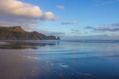 Bethells plaża Obrazy Royalty Free