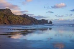 Bethells plaża Zdjęcie Royalty Free