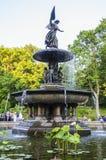 Bethesda Fountain Image libre de droits