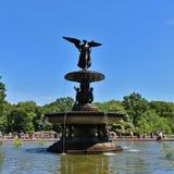 Bethesda Fountain, Central Park royalty-vrije stock foto's