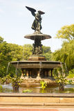 Bethesda Fountain, Central Park, New York Stock Image