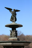 Bethesda fountain in Central Park, New York Royalty Free Stock Photo