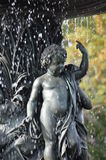 Bethesda Fountain cherubim Royalty Free Stock Images
