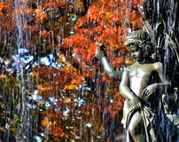 Bethesda Fountain cherubim Stock Photo