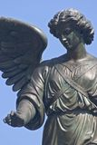 Bethesda Fountain closeup. A close up of the statue on Bethesda Fountain in Central Park in NYC stock image