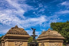 Bethesda Fountain dans le Central Park à New York photos libres de droits