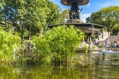 Bethesda Fountain dans le Central Park à New York photo libre de droits