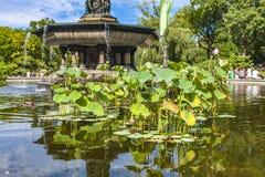 Bethesda Fountain dans le Central Park à New York images stock