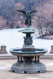 Bethesda Fountain New York City Stock Photo