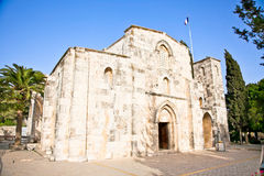 Bethesda at St. Ann Church Jerusalem, Israel Stock Photography