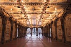 Bethesda Terrace Fotografía de archivo libre de regalías