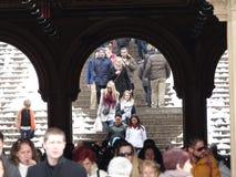 Bethesda Terrace 15 fotografía de archivo