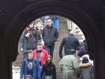 Bethesda Terrace 21 fotos de archivo