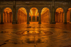 Bethesda Terrace Photos libres de droits