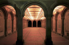 Bethesda Terrace Arcade Royalty Free Stock Photography