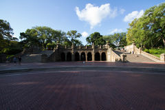 Bethesda Terrace au Central Park Photos stock