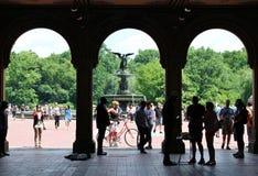Bethesda Terrace, Central Park royalty-vrije stock afbeeldingen