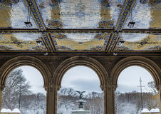 Bethesda Terrace in Central Park Royalty Free Stock Photos
