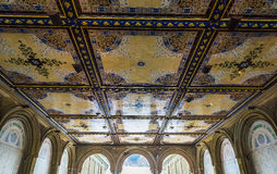 Bethesda Terrace in Central Park Stock Images
