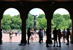 Bethesda Terrace, Central Park Royalty Free Stock Images
