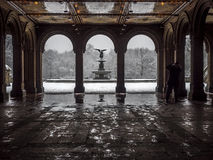 Bethesda Terrace Central Park, New York City Royalty Free Stock Photography
