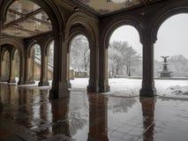 Bethesda Terrace Central Park, New York City Royalty Free Stock Photo