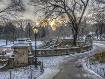 Bethesda Terrace Central Park stock photos