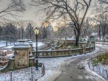 Bethesda Terrace Central Park stock photography