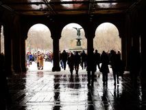 Bethesda Terrace 49 Royalty Free Stock Images