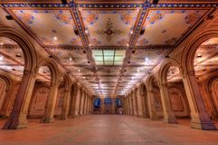 Bethesda Terrace Underpass Royalty Free Stock Photo