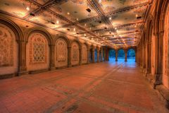 Bethesda Terrace Underpass Royalty Free Stock Images