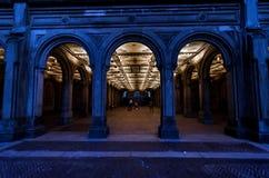Bethesda Terrace Underpass dans le Central Park Photographie stock libre de droits