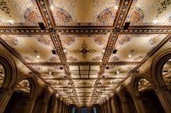 Bethesda Terrace Underpass Interior Royalty-vrije Stock Foto