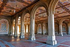 Bethesda Terrace underpass Royalty Free Stock Image