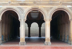 Bethesda terrace Royalty Free Stock Images