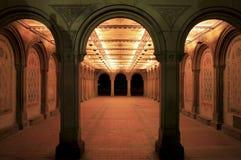 Bethesda-Terrasse-Säulengang Lizenzfreies Stockfoto