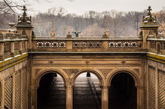 Bethesta Terrace. In central Park. New York Royalty Free Stock Photography