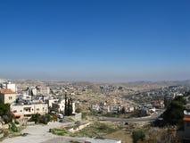 Bethlehem, allgemeine Ansicht Stockbilder