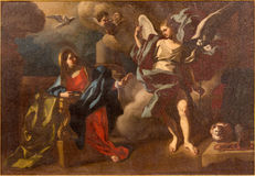Bethlehem - The Annunciation paint in St. Ann church Stock Photography