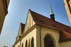 Bethlehem Chapel,The architecture of the old houses, Old Town, Prague, Czech Republic Stock Photos