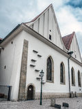 Bethlehem Chapel in Praque. Reconstructed Medieval Bethlehem Chapel, Praque, Czech Republic Royalty Free Stock Photo