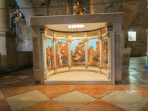 BETHLEHEM, ISRAEL - 12. JULI 2015: Die Entlastungen mit den Szenen f Lizenzfreies Stockbild