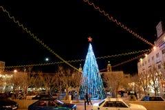 Bethlehem Kerstboom royalty-vrije stock afbeelding