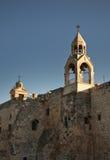 bethlehem kyrklig nativity Palestinska territorierna israel arkivfoto